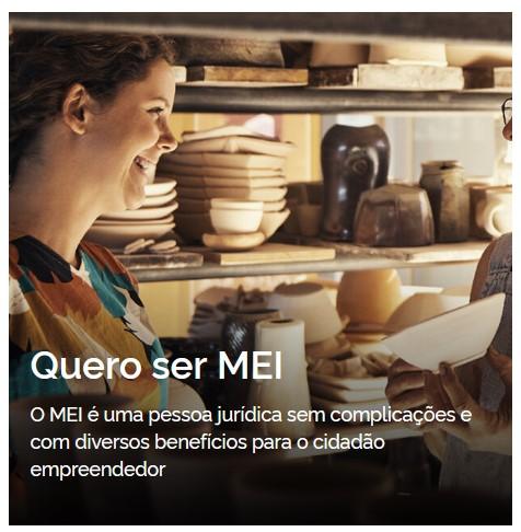 Novo site do Portal do Empreendedor